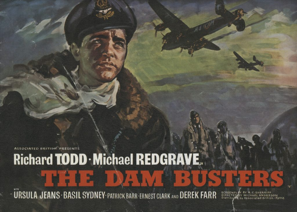 The Dam Busters pressbook